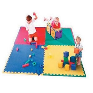 ISCOIM23240-Tapiz Plancha EVA Seguridad Infantil, Protección pavimentos para Centros Educativos
