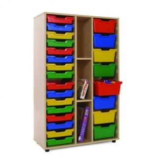 EMARMB600313-Mueble-medio-Estantería 2 cubeteros