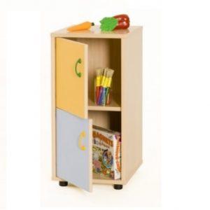 EMMAMB600217- Mueble bajo de 2 puertas -y-2-huecos