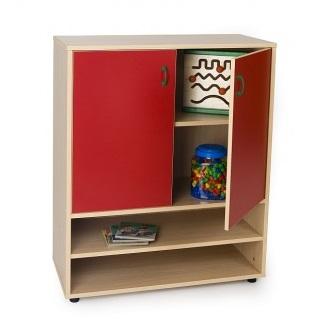 EMMAMB600804- Mueble intermedio armario con-2-puertas-y-2-estanterias2-estanterias