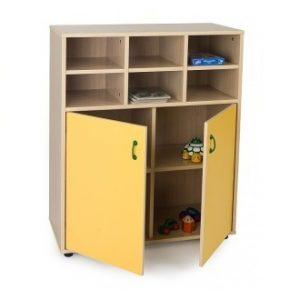 EMMAMB600809-Mueble intermedio armario -abajo-con-2-puertas-y-4-6-casillas