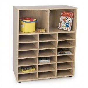 EMMAMB600812- Mueble 18 casillas y 2 huecos arriba