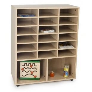 EMMAMB600813- Mueble 18 casillas y 2 huecos abajo