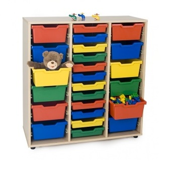 EMMAMB600820- Mueble cubetero 3 columnas