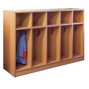 EMPECR6604-Armario Guarda ropa y casillero-5-casillas