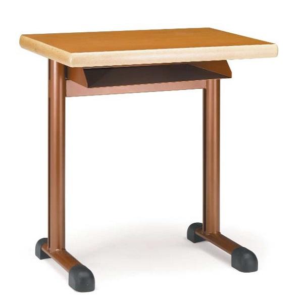 Pupitre individual con caj n 496 mobiliario escolar for Mobiliario escolar medidas