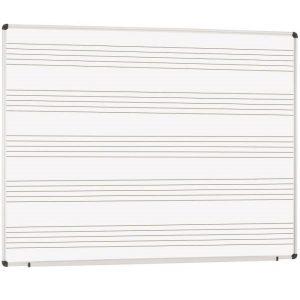 Pizarra pauta musical detalle-pizarra-cuadriculada-laminado-blanco