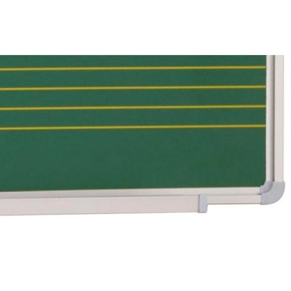 EPPIMA141x- pizarra pauta musical laminado-verde