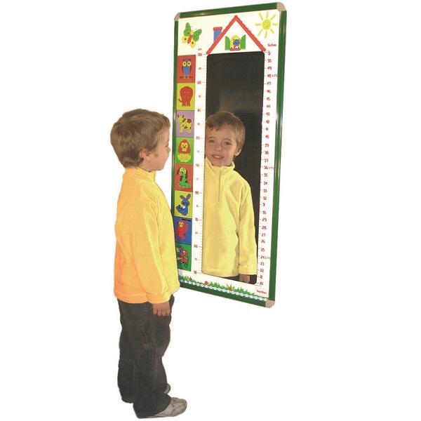Espejo medidor mobiliario escolar for Espejo retrovisor ninos
