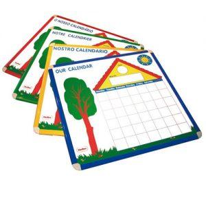 IAJDHE759-I nuestro calendario idiomas calendario magnético