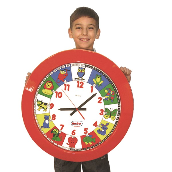 IAJDHE760-reloj gigante animales