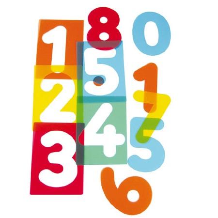 IAJDHE773-Siluetas de números-traslucidas