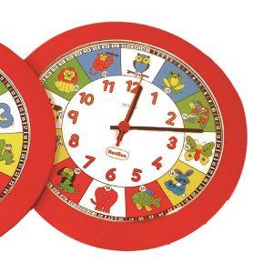 IAJDHE782-RELOJ-DIDACTICO-Reloj Cuarzo Animales