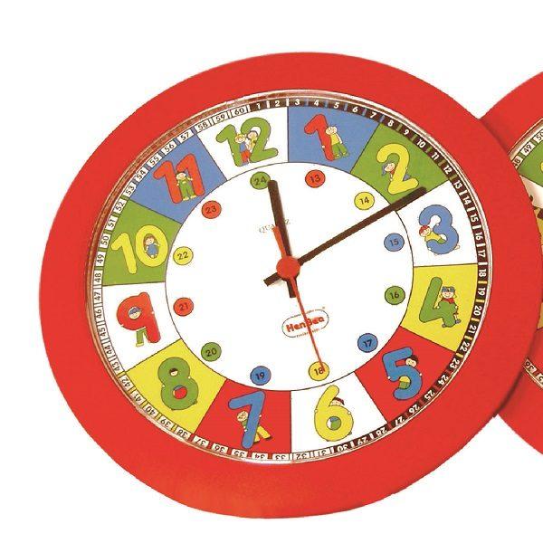 IAJDHE783-RELOJ-DIDACTICO-Reloj Cuarzo Números