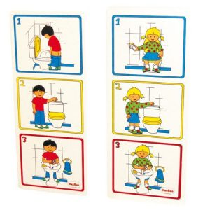 IAJDHE856-Cartel pictórico higiene aseo niño