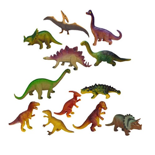 IAJDIM1-25610 dinosaurios juguete 12-figuras