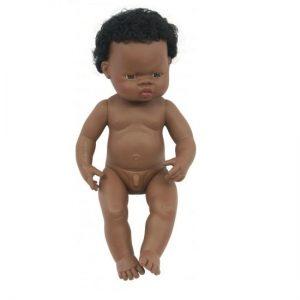 IAJDIM1-31053 Muñeco africano-niño-38-cm