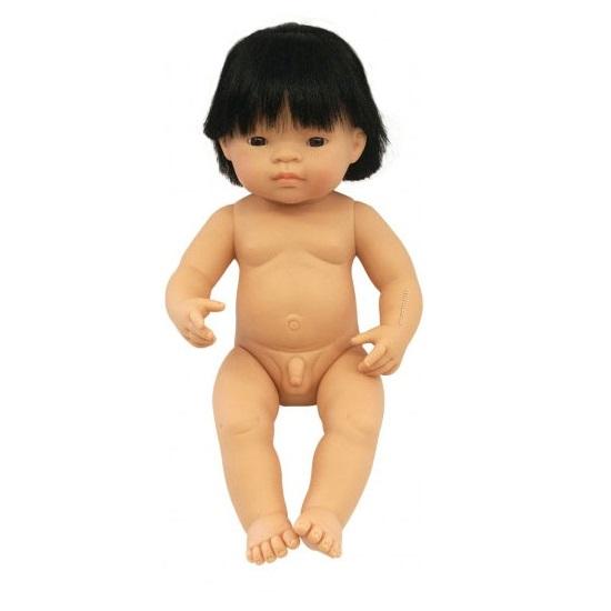 IAJDIM1-31055 Muñeco Asiático niño 38 cm