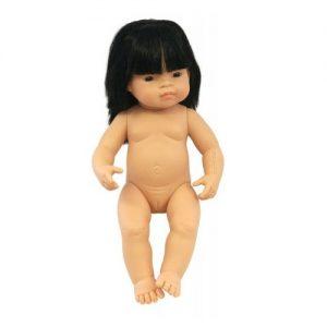 IAJDIM1-31056 Muñeca Asiática niña 38-cm
