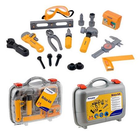 IAJDIM1-97003 maletín herramientas de juguete 19-piezas