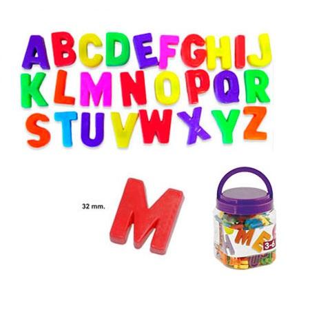 IAJDIM1-97911 letras magnéticas mayúsculas 160 piezas