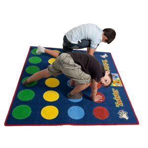 Tapiz Twister niños