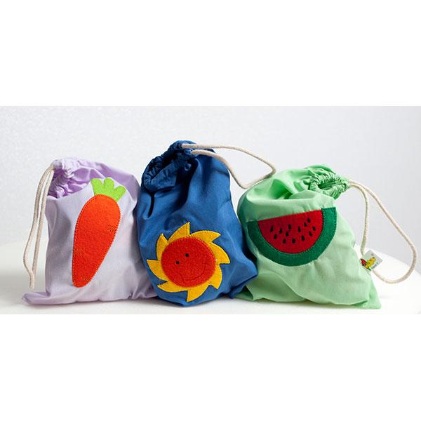 Naturaleza velcros sacos