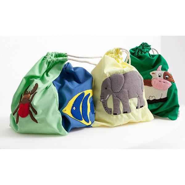Animales velcro sacos