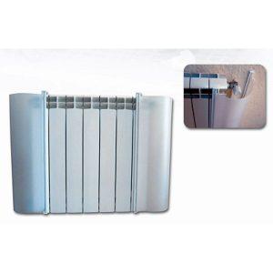 Protección radiador semirrígida opaca