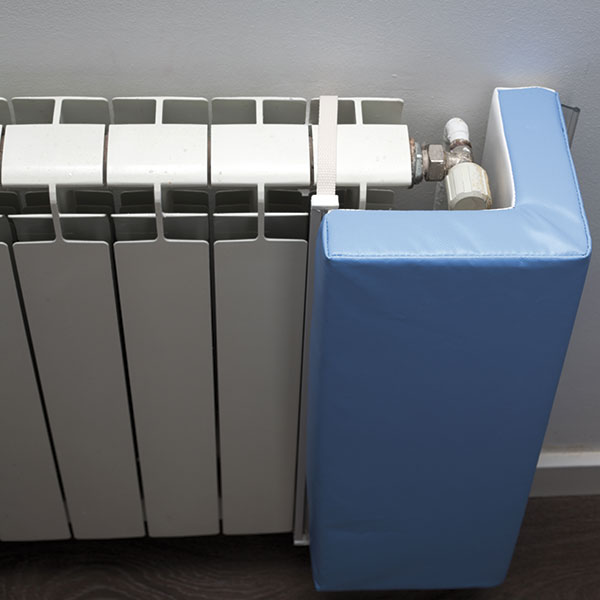 Protección radiador esquina foam
