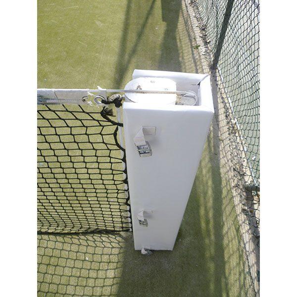 Protección poste con red