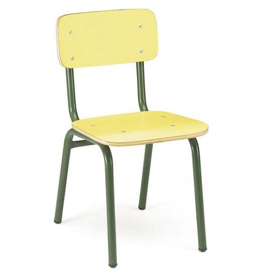 Silla de formica 985 mobiliario escolar - Sillas formica ...