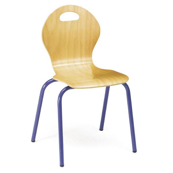 IMSICR987-2- Silla de carcasa de madera