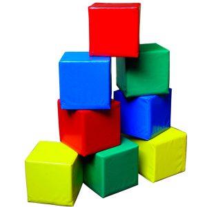 Cubos psicomotricidad