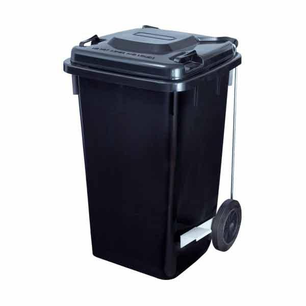 Contenedor industrial de basura