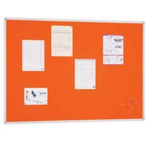 ECCOMA167-Tableros corcho tapizado marco aluminio