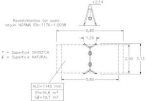 Columpio - Sencillo (2 Asientos Cuna) IPMAMYGE-30202_2